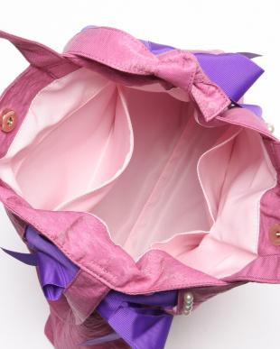 ピンク モンテベロ 2WAYトートバッグを見る