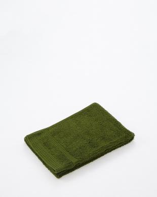 グリーン シェーンロングパイル フェイスタオル×2を見る