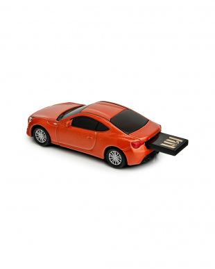 オレンジ USBフラッシュメモリードライブ 16GB トヨタ86 オレンジを見る