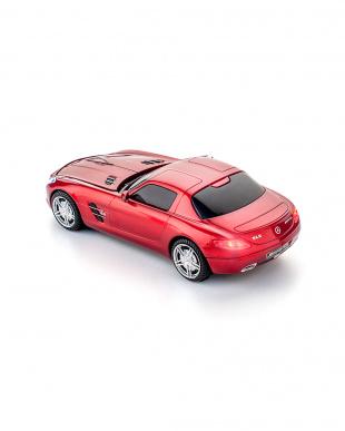 サファイアレッド ワイヤレスマウス メルセデスベンツ SLS AMG サファイアレッドを見る