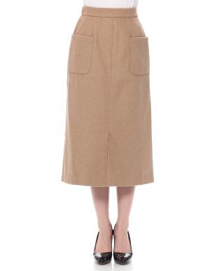 BE カラーペンシルタイトスカートを見る