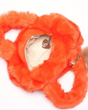 オレンジ ファーボストンチャーム付を見る