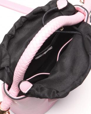 ピンク リボン付ハンドルバッグを見る