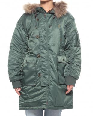 グリーン N3Bコートを見る