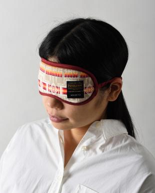 ブラック  PENDLETON×MILESTO 洗えるアイマスクを見る