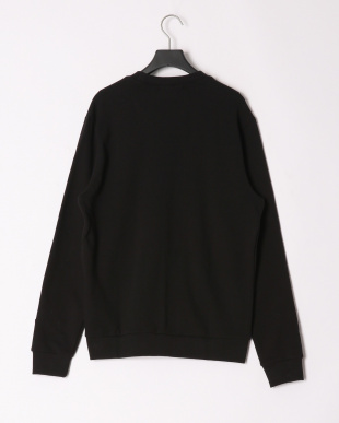 ブラック MEN'S L/SLV SWEATSHIRT W/GRADATION LOGOを見る