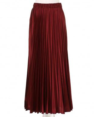 ボルドー オリガミプリーツスカート UN3D.を見る