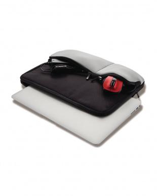ブラック 「PC用インナーバッグ」 まとめて収納/フレキシブルポケット付き/13.3インチを見る