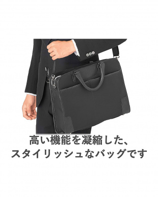 ブラック 「ビジネスバッグ」 2WAY/衝撃保護/自立タイプ/15.6インチ/ORGULLOを見る
