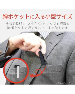 ブラック 「レーザーポインター」 赤色/軽量/ボタンレス/ストラップホール付きを見る