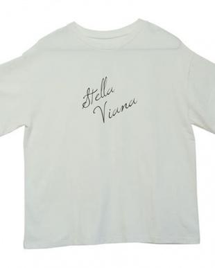 WHITE カリグラフィーロゴ Tシャツを見る