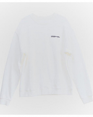 WHITE UISEX LOGO SWEATを見る
