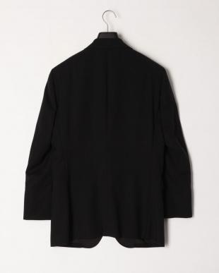 ブラック  シャドーストライプタキシードジャケットを見る