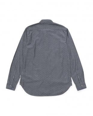 ダークサファイア  メンズ 長袖 タイオガ リバー テクスチャー パターン シャツ スリムを見る