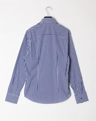 ブルー  ロンドンストライプ ダブルカラー ボタンダウン 長袖シャツを見る