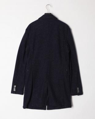 ブルー ノッチドカラー コートを見る