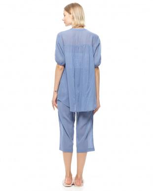 ブルー サマークレープパジャマを見る