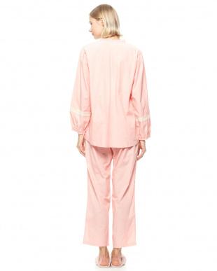 Sピンク 19シャンブレーレースパジャマを見る