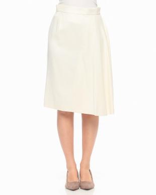 オフホワイト W/Rサキソニースカートを見る