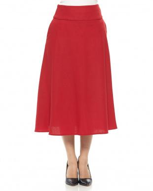 赤メイン ヨーク切替スカートを見る