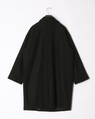 ブラック カットメルトンチェスターコートを見る