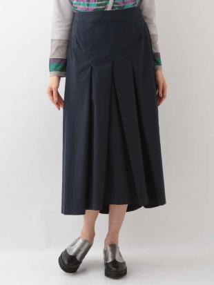 グリーン 【洗える】テイルロングスカート HIROKO BISを見る