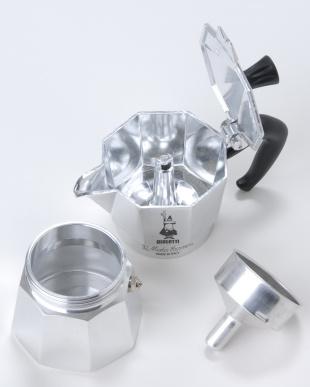 シルバー MOKA EXPRESS 4カップ直火式エスプレッソメーカーを見る