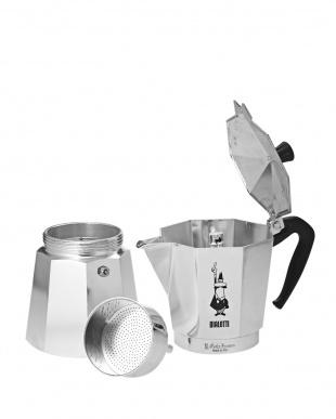シルバー MOKA EXPRESS 9カップ直火式エスプレッソメーカーを見る