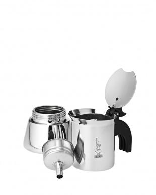 シルバー Elegance Venus 2カップ直火式エスプレッソメーカーを見る