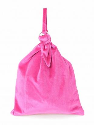 グリーン 【casselini】ベロア巾着バッグ MK MICHEL KLEINを見る