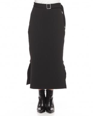 ブラウン ニットスカートを見る