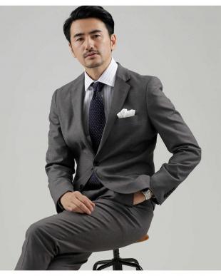 グレー T/R Investment Jacket ナノ・ユニバースメンズ(オリジナル)を見る