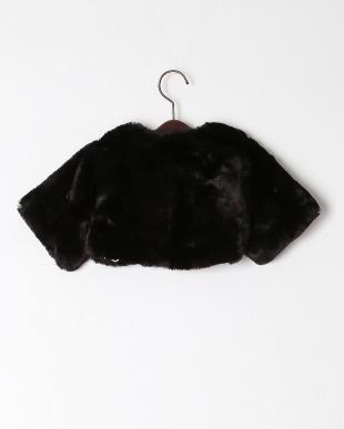 クロ  «輸入»faux fur capeletを見る