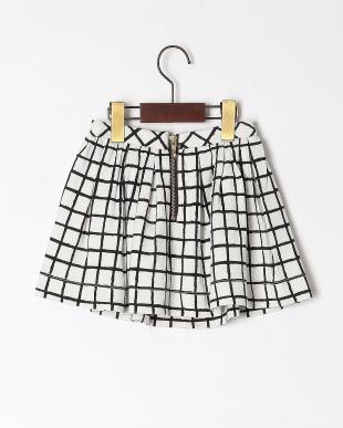クロ  ponte check skirtを見る