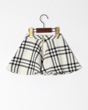 オフホワイト GBG Plaid Circle Skirtを見る