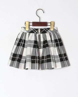 クロ Woodland plaid skirtを見る