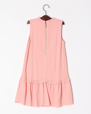 ピンク GBG RUFFLE COLLAR DRESSを見る