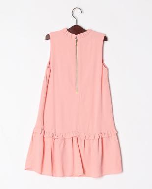 ピンク GBG RUFFLE COLLAR DRESSを見る