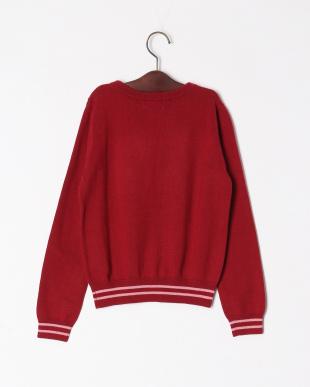 DA・レッド Rose motif sweaterを見る