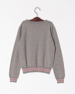 TOP・グレ- Rose motif sweaterを見る