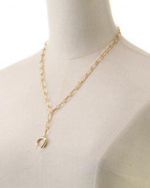 Gold Circle Motif Necklaceを見る