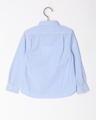 ブルー  【quoti use fith】ギンガムチェック L/S シャツを見る