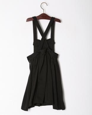 ブラック 【melt】ビッグリボンジャンパースカートを見る