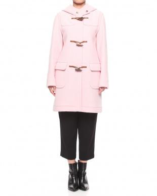 ピンク  ウールコートを見る