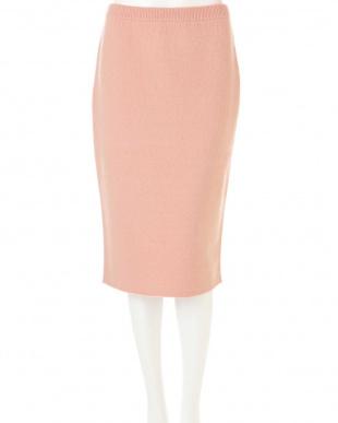 ピンク ボンディングスカート(セットアップ対応商品) PINKY & DIANNEを見る