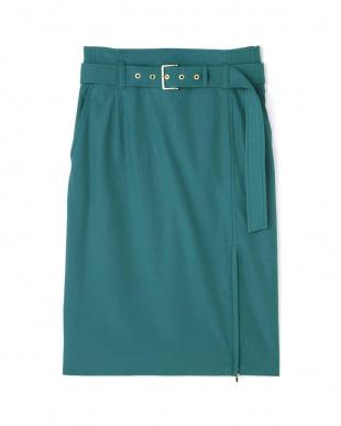 グリーン ZIPラップスカート PINKY & DIANNEを見る
