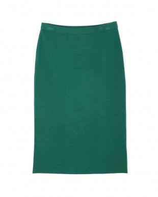 グリーン ミラノリブニットスカート PINKY & DIANNEを見る
