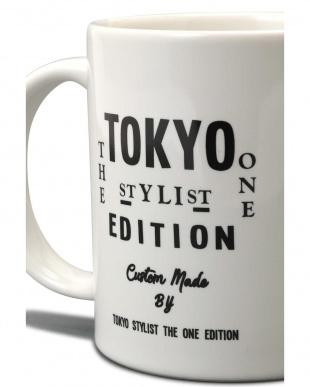 ホワイト オリジナルマグカップ TOKYO STYLIST THE ONE EDITIONを見る