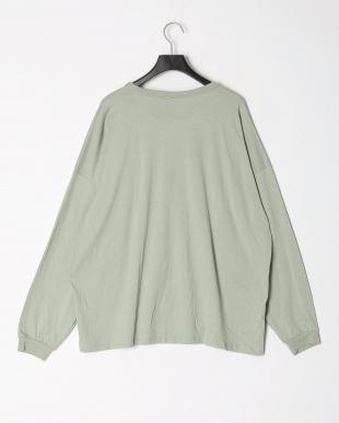 11-カーキ オーバーサイズ長袖Tシャツ(大人)を見る
