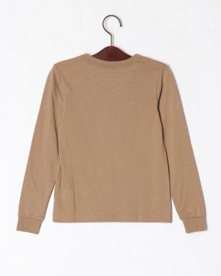 16-ブラウン オーバーサイズ長袖Tシャツを見る